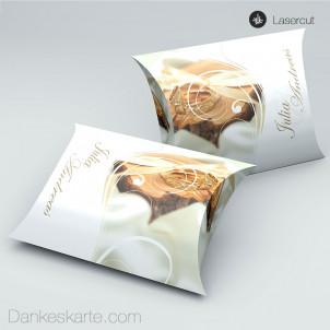 Gastgeschenkverpackung Kissen Imago 4  11 x 7 cm