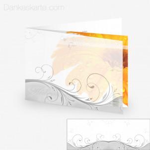 Transparente Hülle Ranken 1 (für 21x15cm Karten)