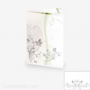 Transparente Hülle Ranken 4 (für 15x21cm Karten)