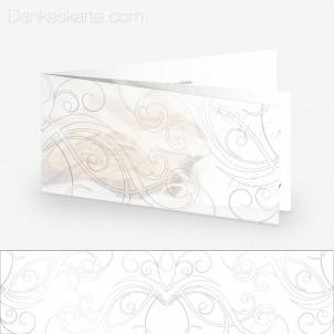 Transparente Hülle Ranken 6 (für 21x10cm Karten)