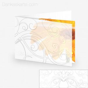 Transparente Hülle Ranken 6 (für 21x15cm Karten)