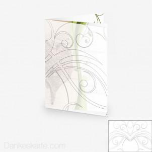 Transparente Hülle Ranken 6 (für 15x21cm Karten)