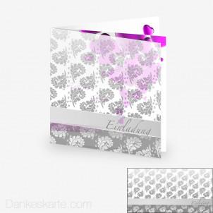 Transparente Hülle Ranken 10 (für 14.5x14.5cm Karten)