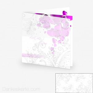 Transparente Hülle Ranken 11 (für 14.5x14.5cm Karten)