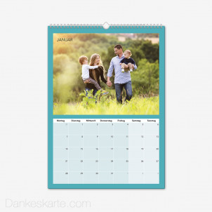 Fotokalender Farbspiele Hochformat