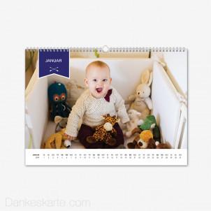 Fotokalender Ribbon Querformat