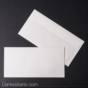 Kuvert naturelle für 21 x 10 cm