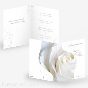 Menükarte Imago Rose 15 x 21 cm