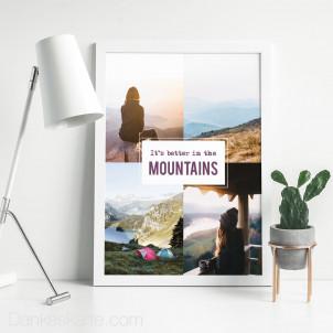 Poster Bergleidenschaft