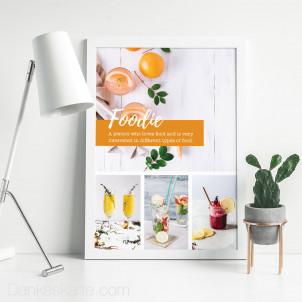 Poster Foodie