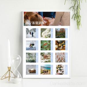Poster Jahr in Bildern