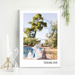 Poster Polaroid Stil