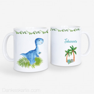 Kindertasse Dinojunge 330ml