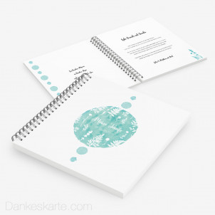 Taufgästebuch Farbtupfer