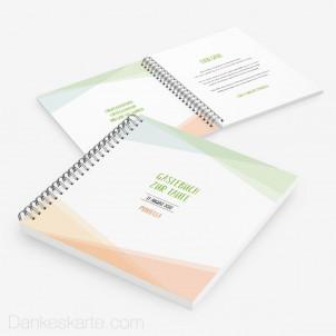 Taufgästebuch Pastellgeometrie