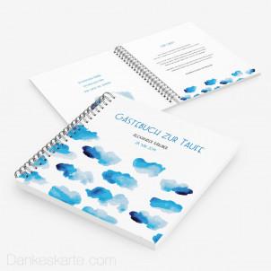 Taufgästebuch Wolke Sieben