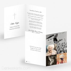 Trauerkarte Bilderreich 10 x 15 cm