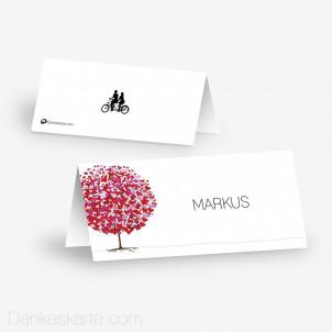 Tischkarte Aufsteller Flourit 10 x 4.5 cm