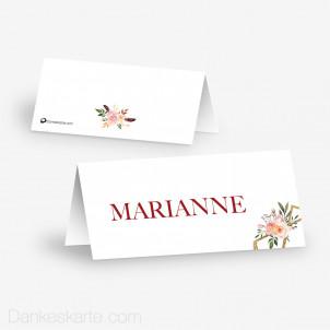 Tischkarte Aufsteller Glamourös 10 x 4.5 cm
