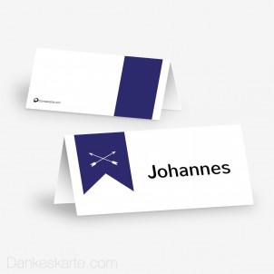 Tischkarte Aufsteller Ribbon 10 x 4.5 cm