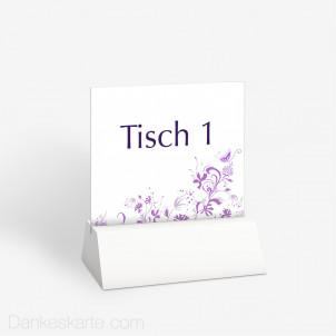 Tischnummer Aberin 10 x 9 cm