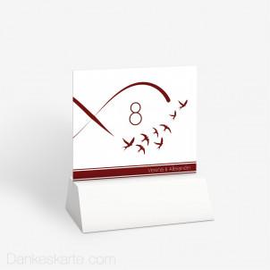 Tischnummer Infinity Bird 10 x 9 cm