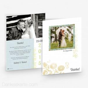 Dankeskarte Picture Frame 15 x 21 cm