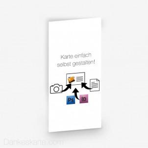 Einlegeblatt Eigenes Design 10 x 21 cm