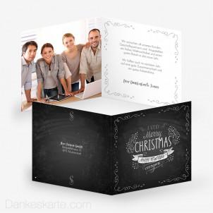 Weihnachtskarte Schön Festlich 14.5 x 14.5 cm