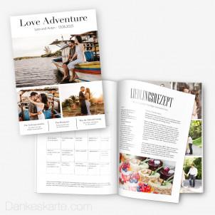 Hochzeitszeitung Adventure