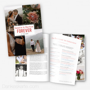Hochzeitszeitung Forever