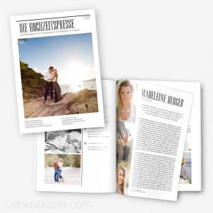 Hochzeitszeitung Die Hochzeitspresse - 16 Seiten