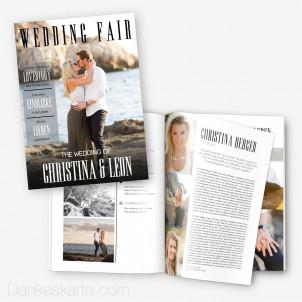 Hochzeitszeitung Wedding Fair - 16 Seiten