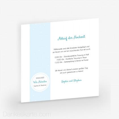 Hochzeitskarten Online Gestalten Drucken Lassen Blau Page 2