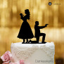 Cake Topper Baby James - Schwarz - XL
