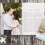 Hochzeitszeitung Scandi Style