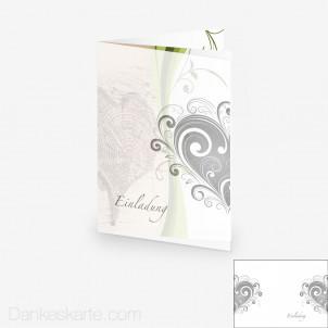 Transparente Hülle Ranken 7 (für 15x21cm Karten)