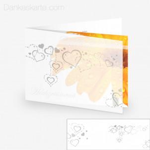 Transparente Hülle Ranken 8 (für 21x15cm Karten)