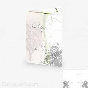 Transparente Hülle Ranken 9 (für 15x21cm Karten)