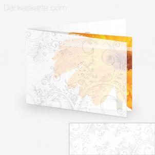 Transparente Hülle Ranken 11 (für 21x15cm Karten)