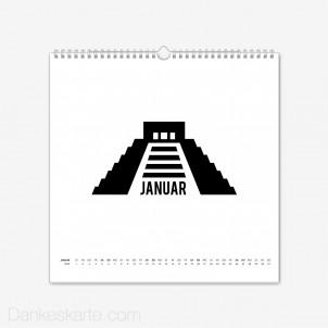 Fotokalender Sightseeing Quadratisch
