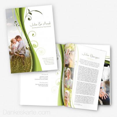 Hochzeitszeitung Ametrin