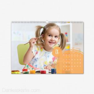 Fotokalender Bubbles Querformat