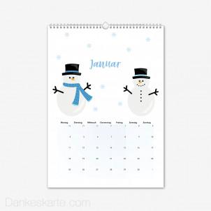 Fotokalender Kunterbunt Hochformat