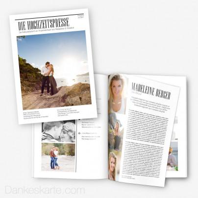 Hochzeitszeitung Die Hochzeitspresse - 20 Seiten