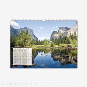 Fotokalender Klassiker Querformat