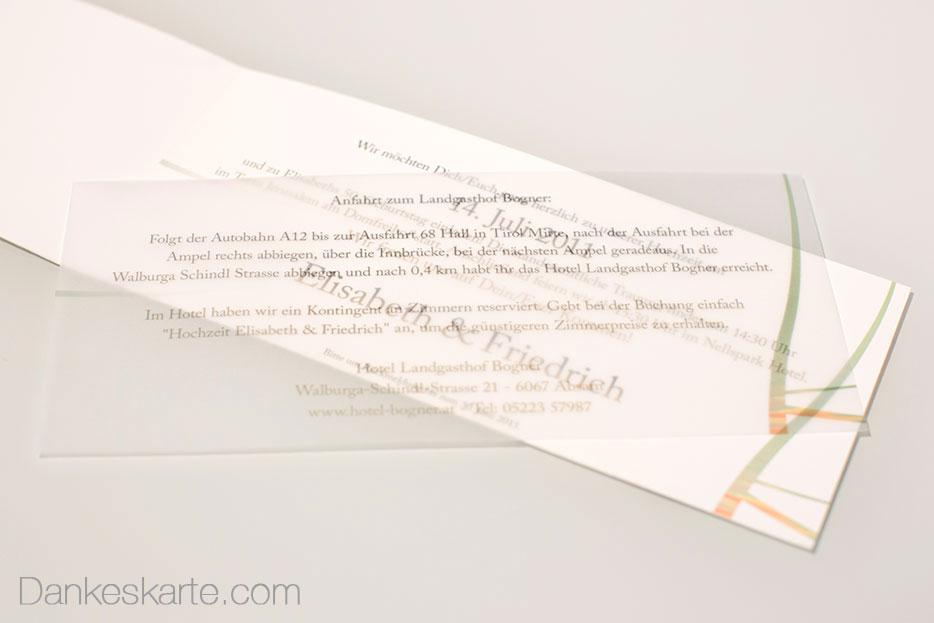 Hochzeitseinladungen von Dankeskarte.com