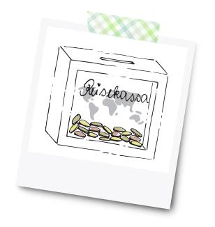 Sparrahmen Reisekassa - 31 Kreative Geldgeschenke für die Hochzeit - Dankeskarte.com