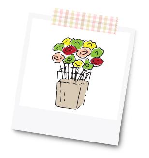 Vase mit Geldblumen - 31 Kreative Geldgeschenke für die Hochzeit - Dankeskarte.com