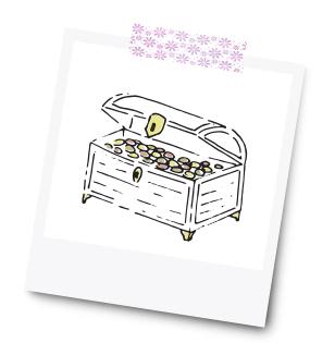 Schatz für das Brautpaar - 31 Kreative Geldgeschenke für die Hochzeit - Dankeskarte.com